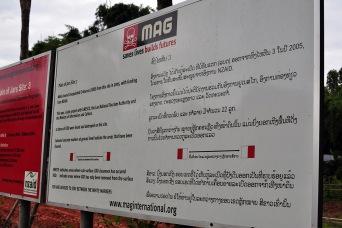 Phonsavan Vasos Laos Bombies MAG NZAID