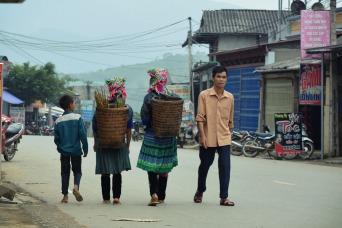 Moto de Hanoi pra Sapa Hmong tribes