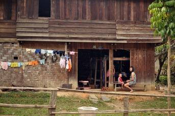 Do Laos pro Vietnam, borda Na Meo - Nam Xai