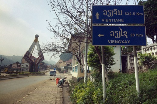 Do Laos pro Vietnam, borda Na Meo - Nam Xai