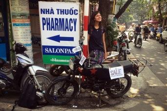 Moto de Hanoi pra Sapa